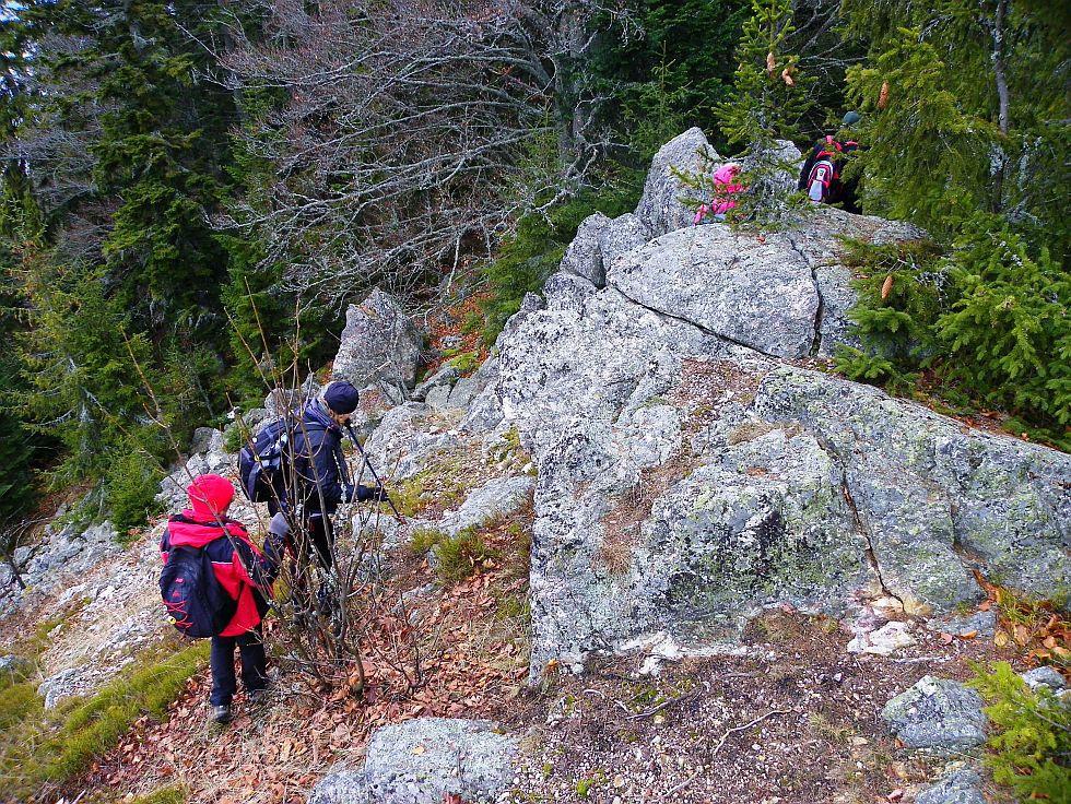 Na vrchole Breznianskej skalky