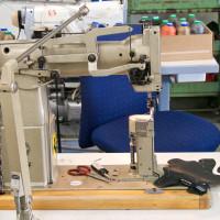 Príprava zvršku je ručná práca za šijacím strojom