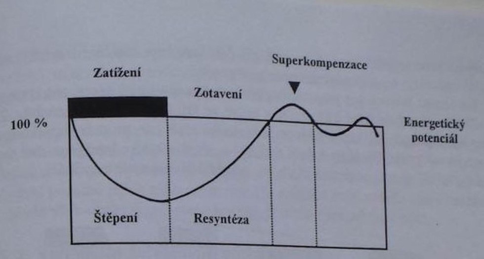 Obrázok 3 - Krivka superkompenzácie