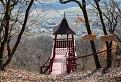 Vyhliadková veža na kopci Stráž
