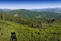 Výhľad z vrchu Luby