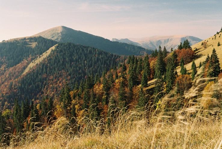 Jesenné farby Veľkej Fatry
