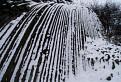 Zamrznutý vodopád.