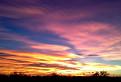 Západ slnka nad Kitsee / 1.2083
