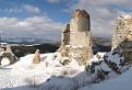 Panoráma z Čachtického hradu