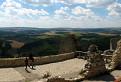 Výhľad z Čachtického hradu