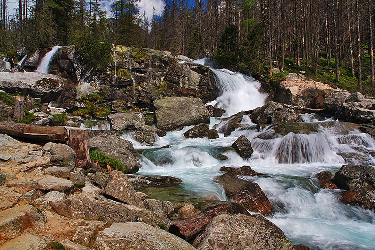 Vodopád Studeného potoka..