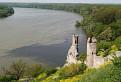 Sútok Moravy a Dunaja z Devínskeho hradu  / 1.0588