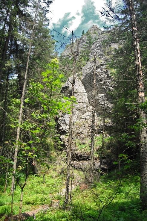 skaly Plošové Turne- 1080.6 mnm