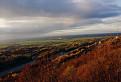 jesenný pohľad zo sandbergovej stráne na Schlosshof  / 1.3125