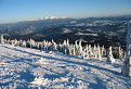 Zapadne Tatry a Chocske Vrchy z Kubinskej hole (Zmrznuti 2)