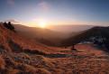 Východ slnka spod Suchého vrchu I