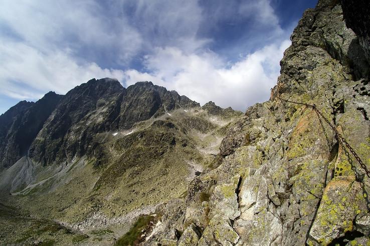 Gerlach a retiazky na Polsky hreben