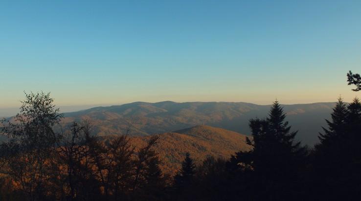 Pohľad z ostrého vrchu