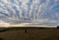 Západ slnka nad Moravským polom / 1.2500