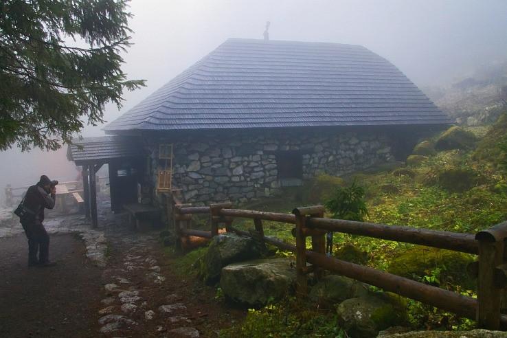 rainerka v hmle