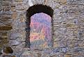 Z okna na Likavskom hrade. / 1.9130