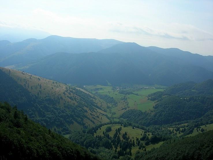 Veľkofatranský výhľad z Minčola