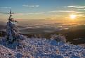 Ranné lúče na Jaseňovom vrchu