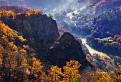 Krásne jesenné ráno na Kapitulských bralcoch