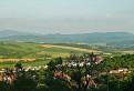 časť hrebeňa Strážovských vrchov