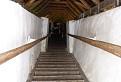 Kryté drevené schodisko
