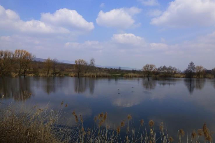 druhé Grinavské jazero