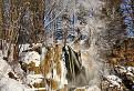 Lúčanský vodopád v zimnom šate / 1.0000