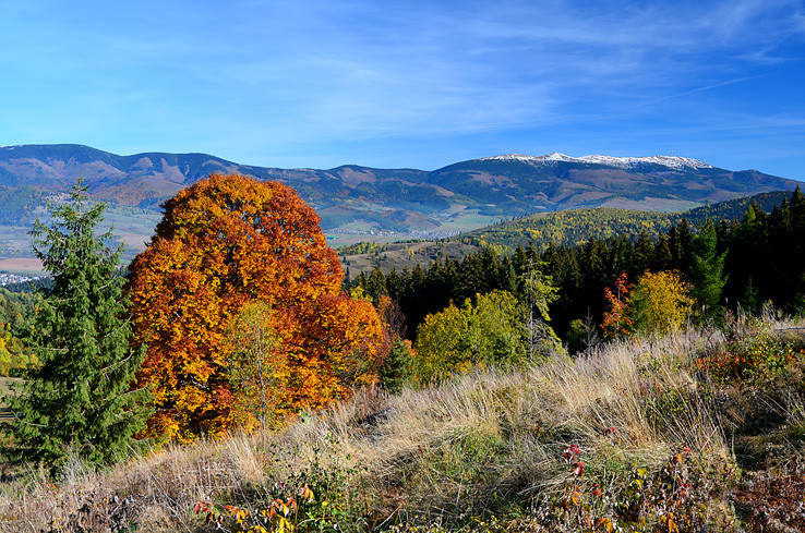 Jeseň na Muránskej planine