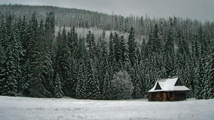 domcek v horach