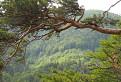 Pohľad z Čierneho vrchu na Lysicu