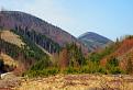Málo známe vrcholy Kozol ( 1119 m ) a Čipcie ( 920 m ).