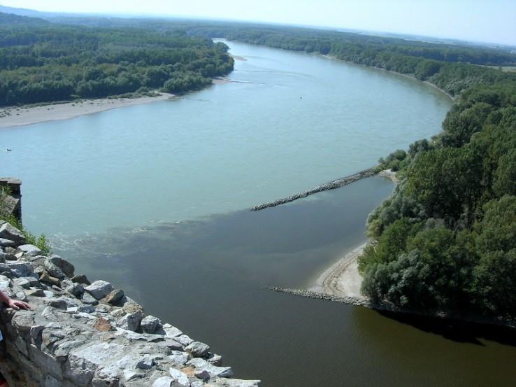 Morava a Dunaj z Devína