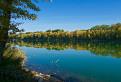Jeseň na jazere Zemník