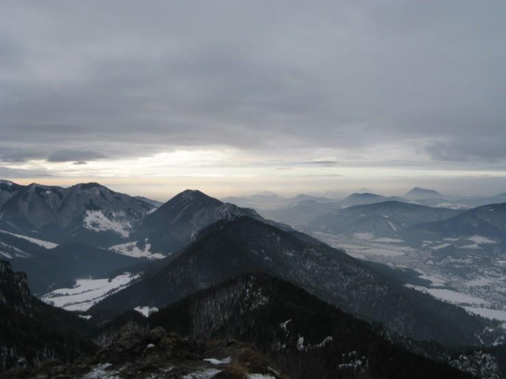 Zima na horach