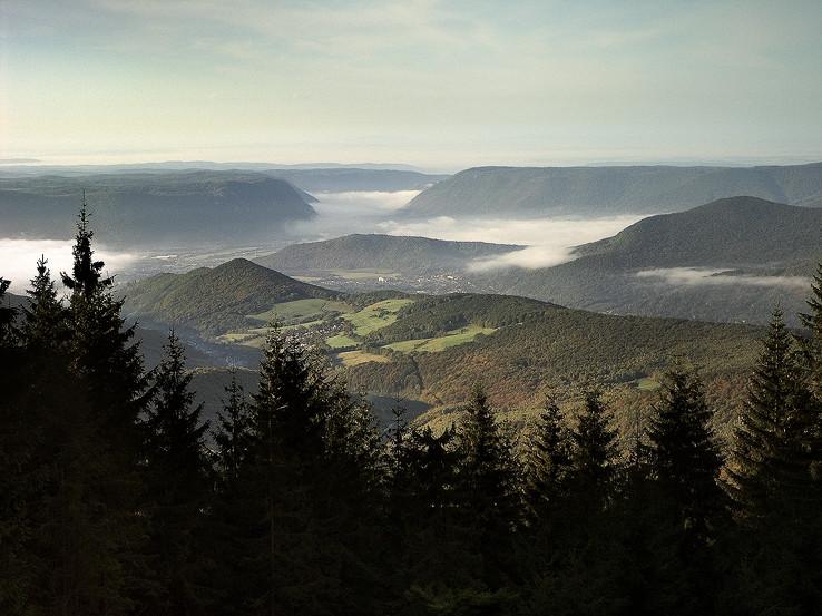 Výhľad z chaty Volovec