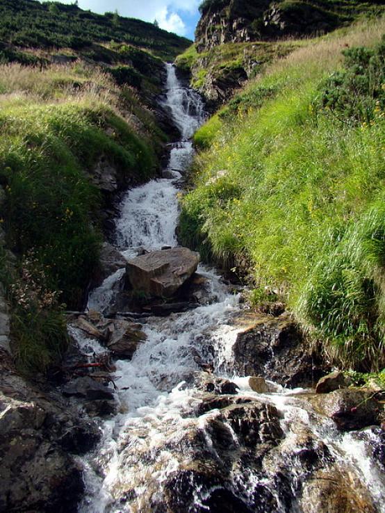 Šarafiový vodopád