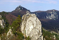 Panoráma zo Súľovského hradu / 1.0400