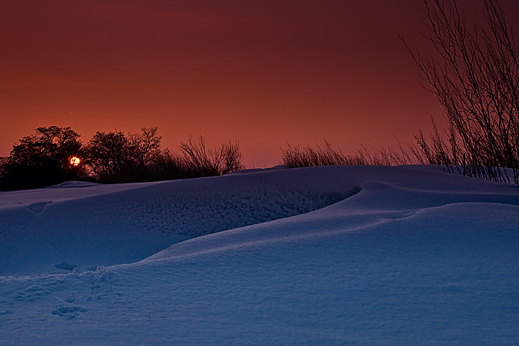 Zima ako vo Fínsku