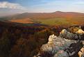 jesenný podvečer na Ladickej skale