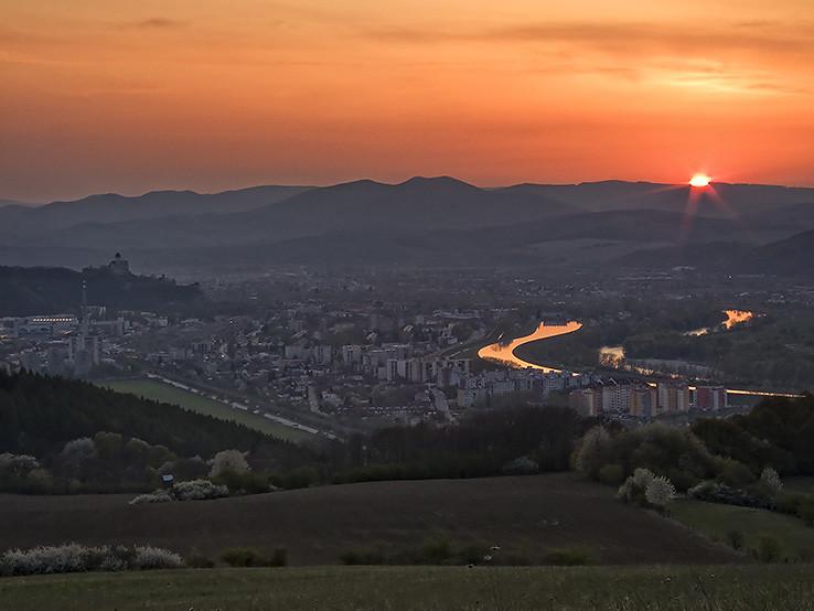 Podvečerný Trenčín